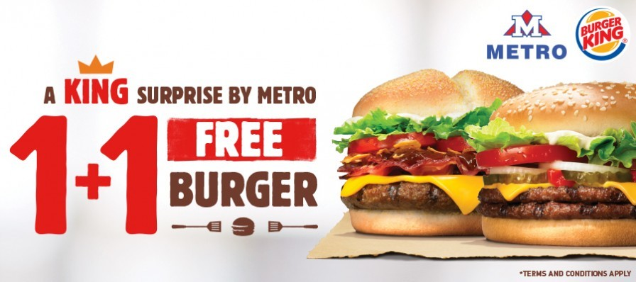 A KING surprise by METRO supermarkets!