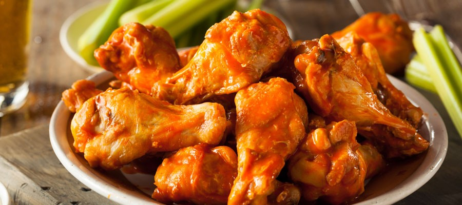 oven baked spicy wings